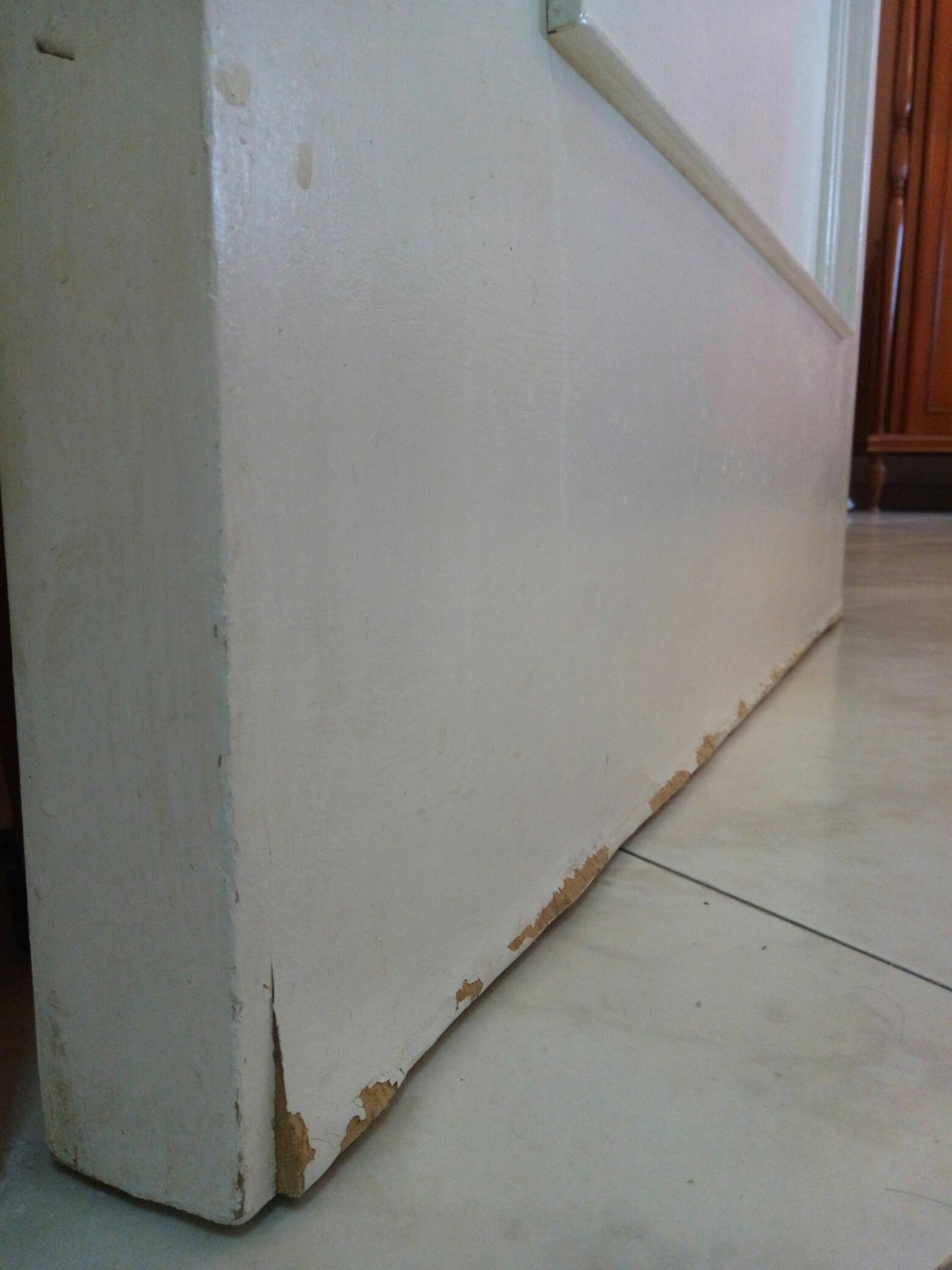 Come Restaurare Una Porta Di Legno.Restauro Porte In Mdf Come Sgrossare I Rigonfiamenti Ai Lati