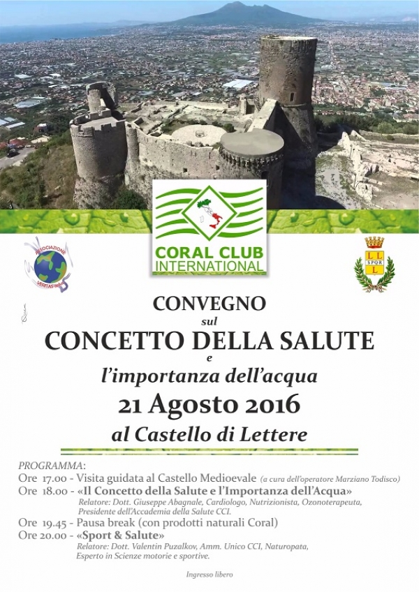 Castello di Lettere - Convegno Coral Club International